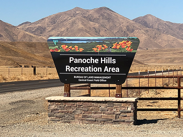 Panoche Hills Entrance